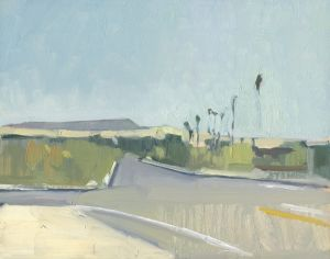 <i>Morning in Borrego</i><BR>Borrego Springs, California<BR>8x10 Oil - $600