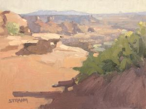 <i>Dead Horse Point</i><BR>Moab, Utah<BR>12x16 Oil - $1200
