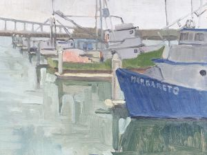 <i>Margareto</i><BR>San Diego, California<BR>9x12 oil - $750