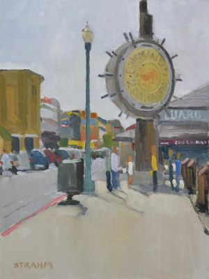 <i>Fisherman's Wharf</i><BR>San Francisco<BR>16x12 oil - $1400