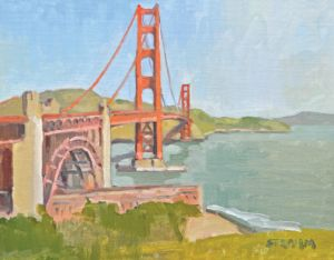Golden Gate Bridge<BR>San Francisco, California