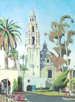 California Tower<BR> Balboa Park, San Diego