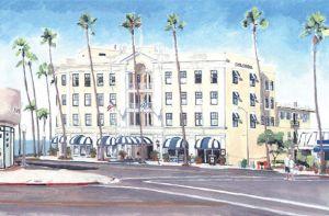 Grande Colonial Hotel<BR> La Jolla, San Diego