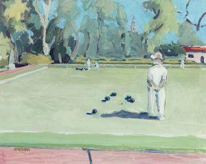 Lawn Bowling<BR>Balboa Park, San Diego