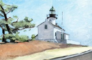 Historic Point Loma Lighthouse<BR>Point Loma, San Diego