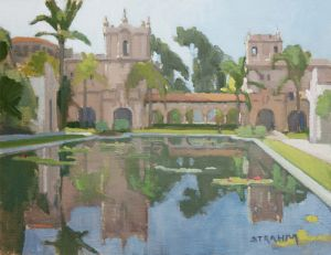 Reflection Pond<BR>Balboa Park, San Diego