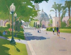 Walking El Prado
