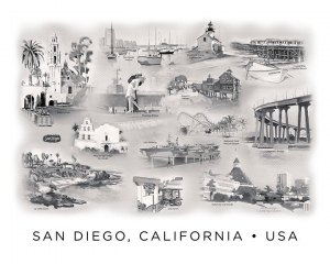 San Diego Landmarks