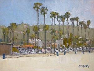 La Jolla Shores Beach Palms