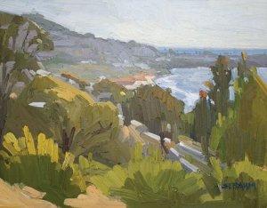 Impressionistic La Jolla Shores