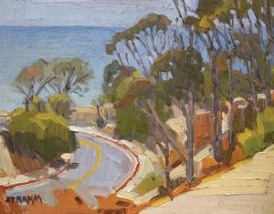 Winding Down La Jolla Shores Drive