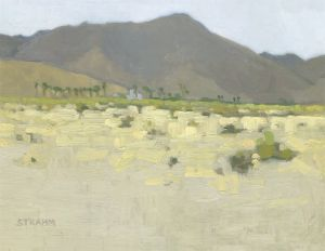 <i>Saint Richard Catholic Church</i><BR>Borrego Springs, California<BR>12x16 Oil - $1200