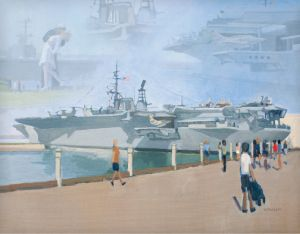 USS Midway Montage<BR>San Diego, California