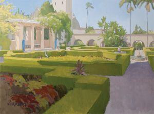 Alcazar Garden<BR>Balboa Park, San Diego