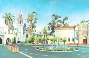 Balboa Park<BR>San Diego, California