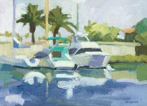 Boats at the Southwestern Yacht Club<BR>San Diego