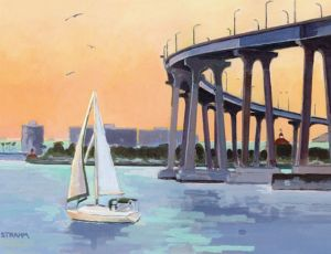 Coronado Bridge<BR>Coronado, San Diego