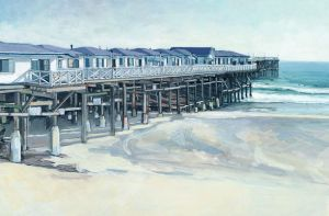 North Side of Crystal Pier<BR> Pacific Beach, San Diego