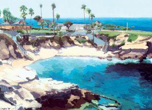 La Jolla Cove<BR> La Jolla, San Diego