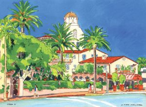 La Valencia Hotel<BR> La Jolla, San Diego
