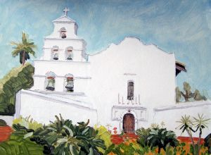 Mission San Diego de Alcala<BR> Mission Valley, San Diego