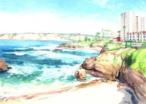 Shell Beach<BR> La Jolla, San Diego