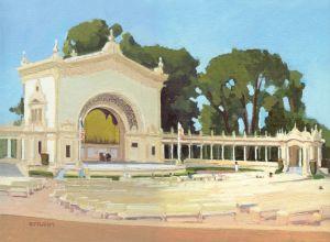 Spreckels Organ Pavilion<BR> Balboa Park, San Diego